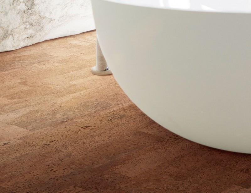Kork Fußboden Bad ~ Rutschfest robust bodenbeläge für das bad wohnen