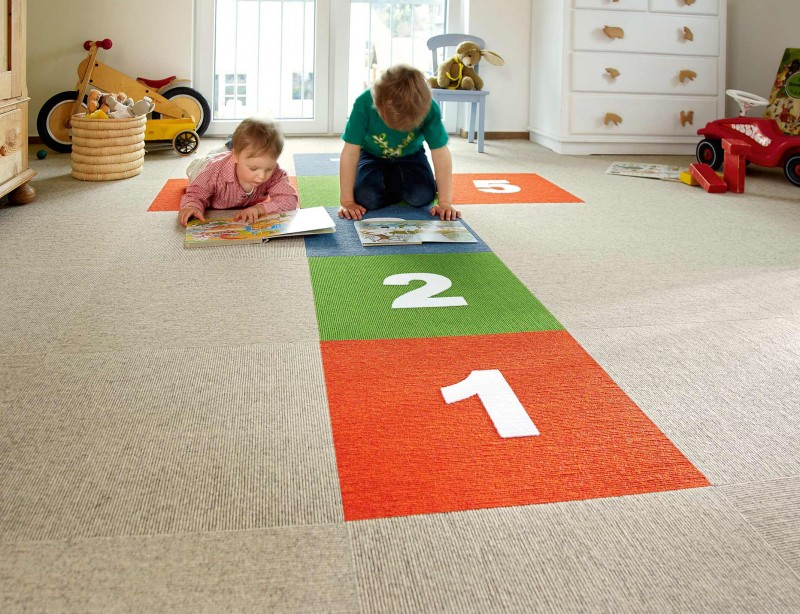 Der Perfekte Bodenbelag Fur Das Kinderzimmer Wohnen