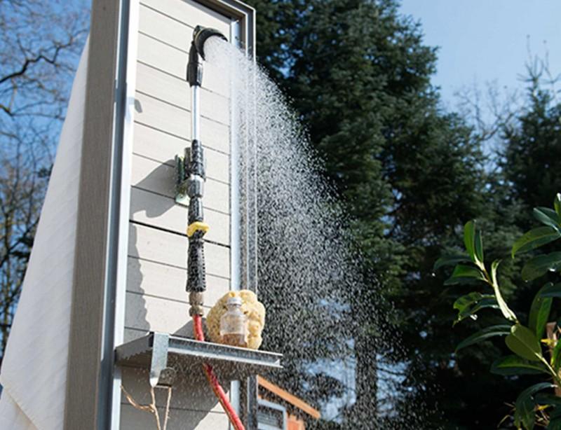 Gartendusche: Erfrischung im Freien - Wohnen