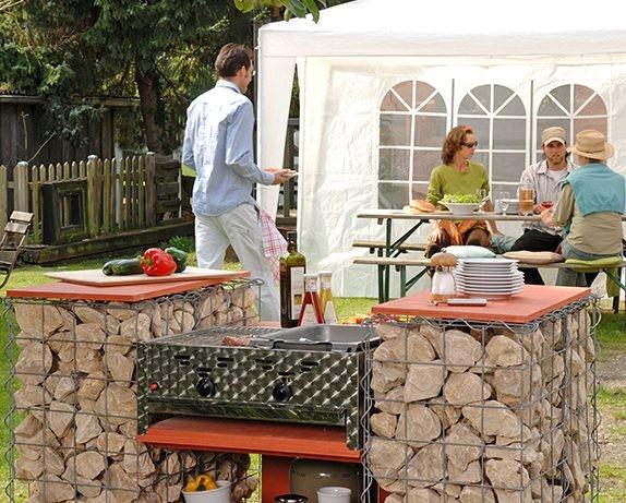 Eine Grillstation selber bauen - Wohnen