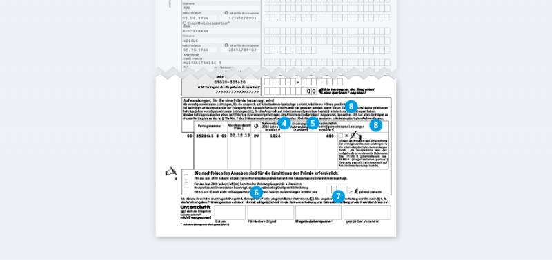 Antrag auf wohnungsbauprämie lbs richtig ausfüllen