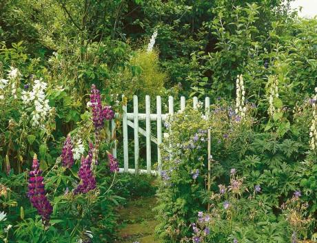 Einen Landhausgarten Anlegen Wohnen